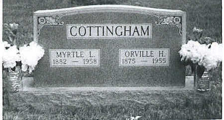 DILLMAN COTTINGHAM, MYRTLE L. - Lucas County, Iowa | MYRTLE L. DILLMAN COTTINGHAM