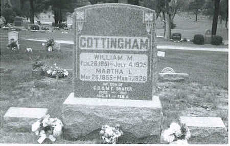 COTTINGHAM, WILLIAM M. - Lucas County, Iowa | WILLIAM M. COTTINGHAM