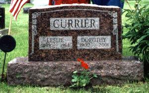 CURRIER, ELMER LESLIE - Lucas County, Iowa | ELMER LESLIE CURRIER