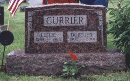 CURRIER, DOROTHY - Lucas County, Iowa | DOROTHY CURRIER