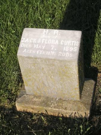 CURTIS, H. R. - Lucas County, Iowa | H. R. CURTIS