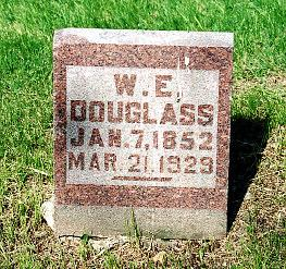 DOUGLASS, W E - Lucas County, Iowa | W E DOUGLASS