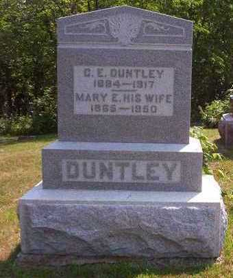 MARKER DUNTLEY, MARY ETTA - Lucas County, Iowa | MARY ETTA MARKER DUNTLEY