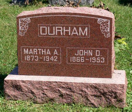 DURHAM, JOHN D. - Lucas County, Iowa | JOHN D. DURHAM