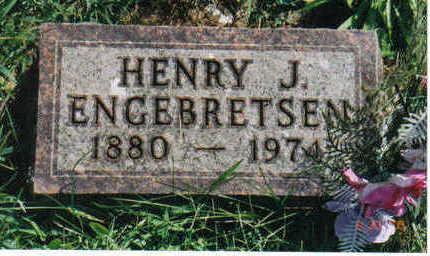 ENGEBRETSEN, HENRY J. - Lucas County, Iowa | HENRY J. ENGEBRETSEN