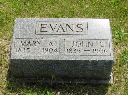 EVANS, MARY ANN - Lucas County, Iowa | MARY ANN EVANS