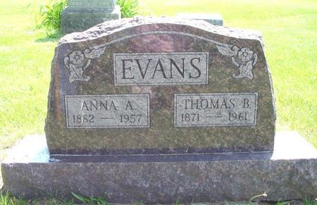 EVANS, THOMAS B. - Lucas County, Iowa | THOMAS B. EVANS