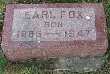 FOX, EARL - Lucas County, Iowa | EARL FOX