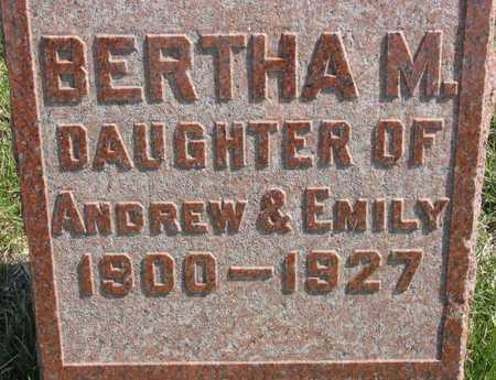 GRANVILLE, BERTHA M. - Lucas County, Iowa | BERTHA M. GRANVILLE