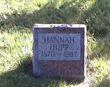 HUPP, HANNAH - Lucas County, Iowa | HANNAH HUPP