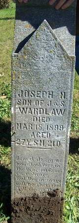 WARDLAW, JOSEPH N. - Lucas County, Iowa   JOSEPH N. WARDLAW