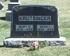 KRUTSINGER, MARY E. - Lucas County, Iowa | MARY E. KRUTSINGER