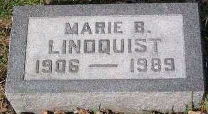 BROWN LINDQUIST, MARIE - Lucas County, Iowa | MARIE BROWN LINDQUIST