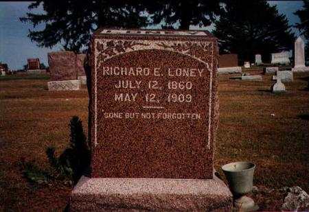 LONEY, RICHARD - Lucas County, Iowa | RICHARD LONEY