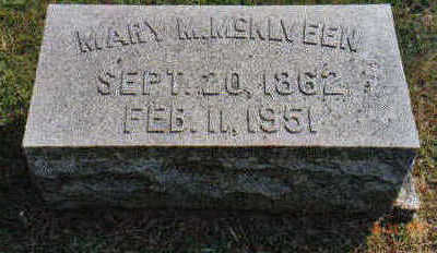 MCKLVEEN, MARY M - Lucas County, Iowa | MARY M MCKLVEEN