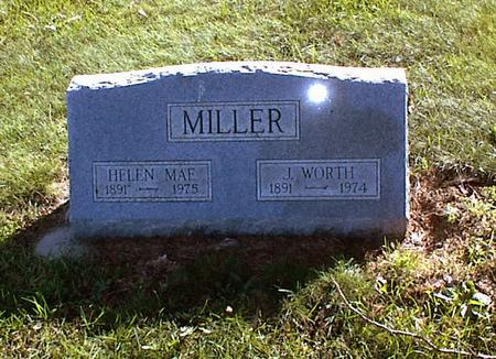 MILLER, JOHN WORTH - Lucas County, Iowa | JOHN WORTH MILLER
