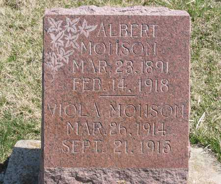 MONSON, ALBERT E - Lucas County, Iowa | ALBERT E MONSON