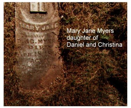 MYERS, MARY - Lucas County, Iowa | MARY MYERS