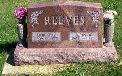 REEVES, DOROTHY - Lucas County, Iowa | DOROTHY REEVES