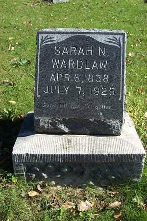 WARDLAW, SARAH N. - Lucas County, Iowa | SARAH N. WARDLAW