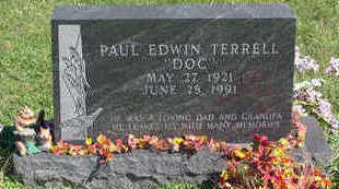 TERRELL, PAUL EDWIN - Lucas County, Iowa | PAUL EDWIN TERRELL