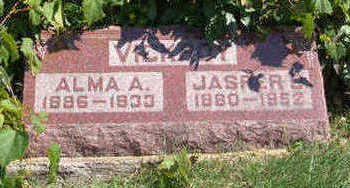 CLARK VICKROY, ALMA ALICE - Lucas County, Iowa | ALMA ALICE CLARK VICKROY
