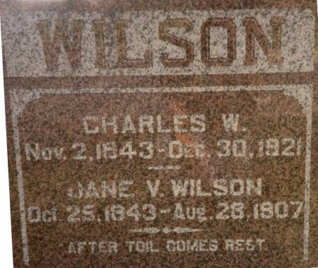 WILSON, JANE - Lucas County, Iowa | JANE WILSON
