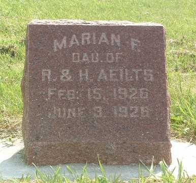 AEILTS, MARIAN F. - Lyon County, Iowa | MARIAN F. AEILTS