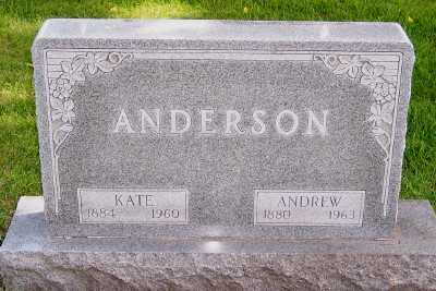 ANDERSON, ANDREW - Lyon County, Iowa | ANDREW ANDERSON
