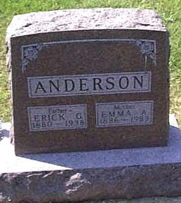 ANDERSON, ERICK G. - Lyon County, Iowa | ERICK G. ANDERSON