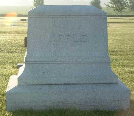 APPLE, FAMILY HEADSTONE - Lyon County, Iowa | FAMILY HEADSTONE APPLE