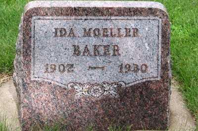 MOELLER BAKER, IDA - Lyon County, Iowa | IDA MOELLER BAKER