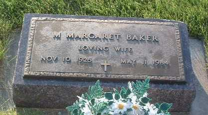 BAKER, M. MARGARET - Lyon County, Iowa | M. MARGARET BAKER