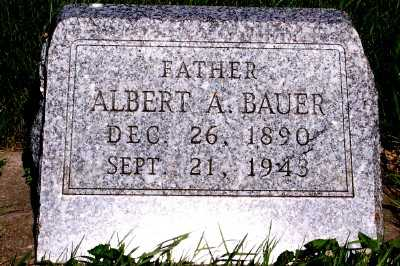 BAUER, ALBERT A. - Lyon County, Iowa | ALBERT A. BAUER
