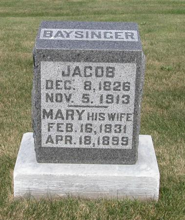 BAYSINGER, MARY O - Lyon County, Iowa | MARY O BAYSINGER