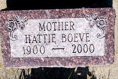 BOEVE, HATTIE - Lyon County, Iowa | HATTIE BOEVE