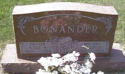 BONANDER, AXEL - Lyon County, Iowa | AXEL BONANDER