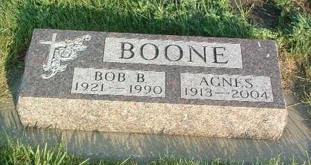 BOONE, AGNES - Lyon County, Iowa | AGNES BOONE