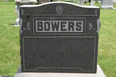 BOWERS, HEADSTONE - Lyon County, Iowa | HEADSTONE BOWERS