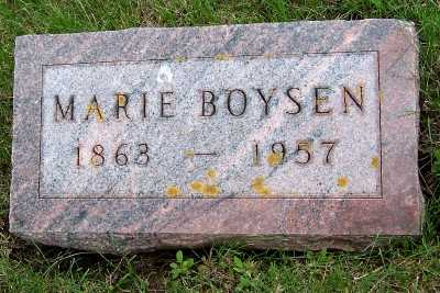BOYSEN, MARIE - Lyon County, Iowa | MARIE BOYSEN