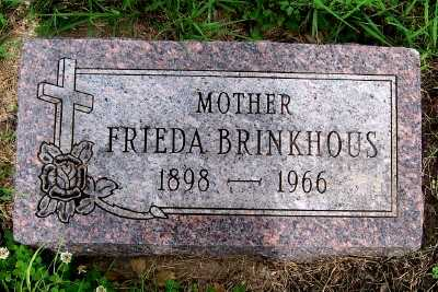 BRINKHOUS, FRIEDA - Lyon County, Iowa | FRIEDA BRINKHOUS