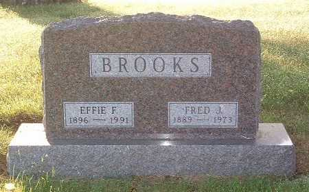 BROOKS, EFFIE F. - Lyon County, Iowa | EFFIE F. BROOKS