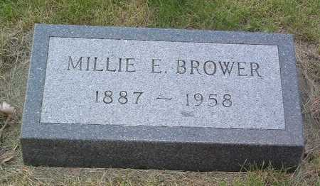 BROWER, MILLIE E. - Lyon County, Iowa | MILLIE E. BROWER