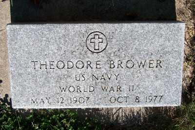 BROWER, THEODORE - Lyon County, Iowa | THEODORE BROWER