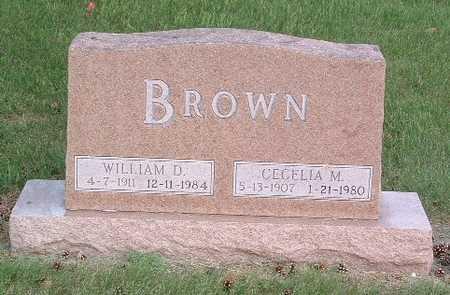 BROWN, WILLIAM D. - Lyon County, Iowa | WILLIAM D. BROWN