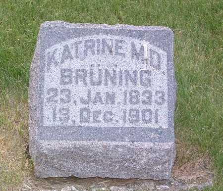 BRUNING, KATRINE - Lyon County, Iowa | KATRINE BRUNING