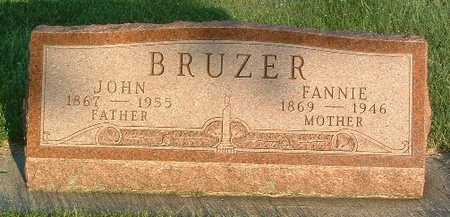 BRUZER, FANNIE - Lyon County, Iowa | FANNIE BRUZER