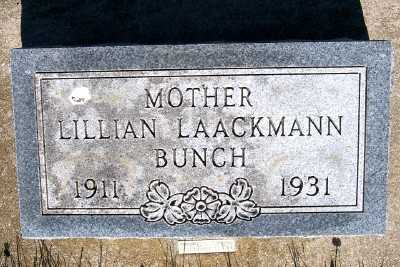 LAACKMANN BUNCH, LILLIAN - Lyon County, Iowa | LILLIAN LAACKMANN BUNCH