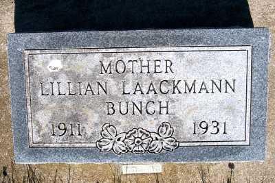 BUNCH, LILLIAN - Lyon County, Iowa | LILLIAN BUNCH