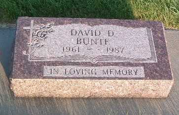 BUNTE, DAVID D. - Lyon County, Iowa | DAVID D. BUNTE